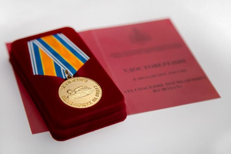 Четвероклассник изКировской области получит медаль отМЧС Российской Федерации