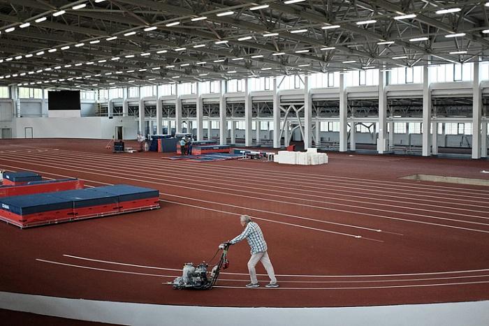 Легкоатлетический манеж вКирове сумеет принимать международные состязания