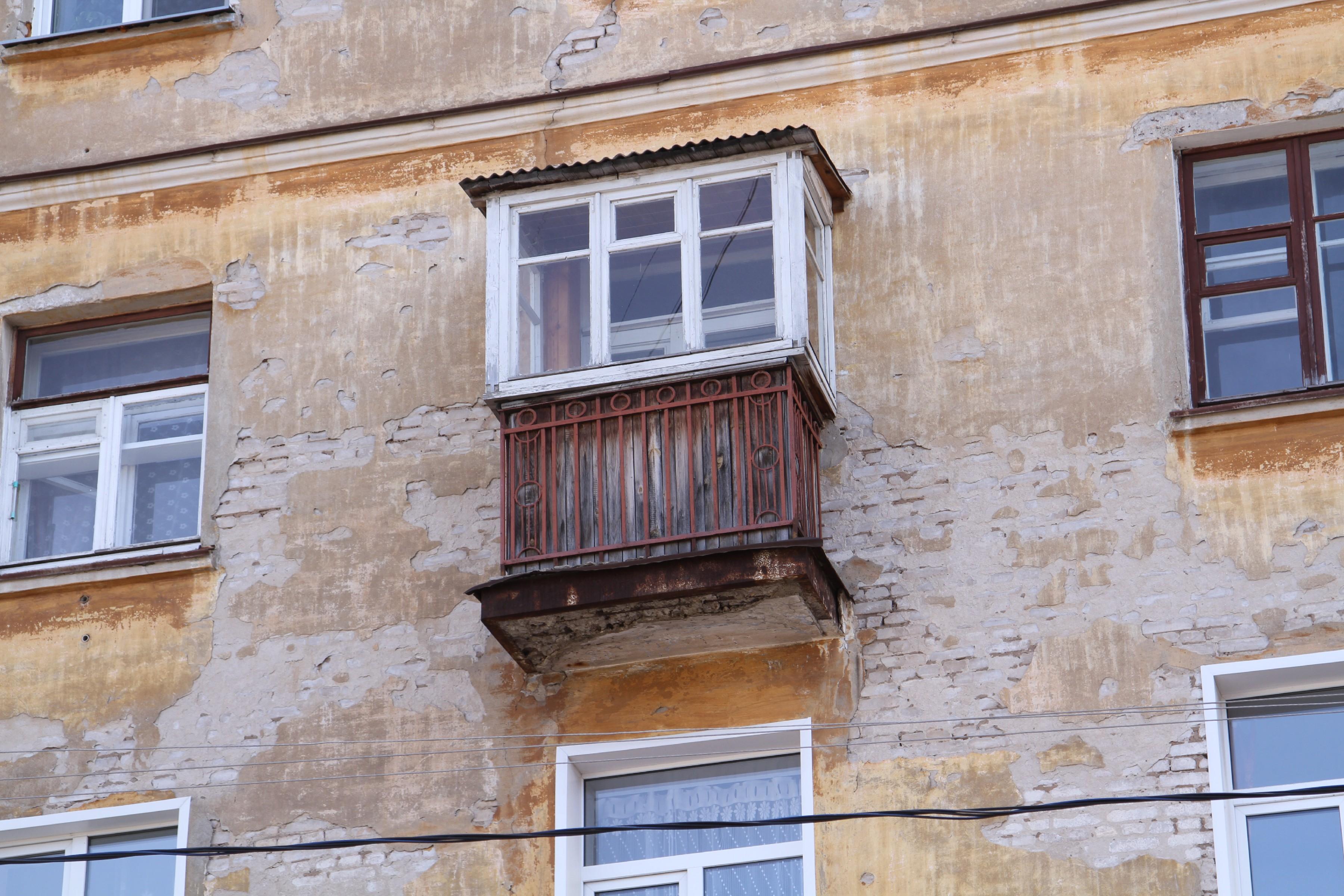 Скачать старые балконы фото 3600x2400 px.