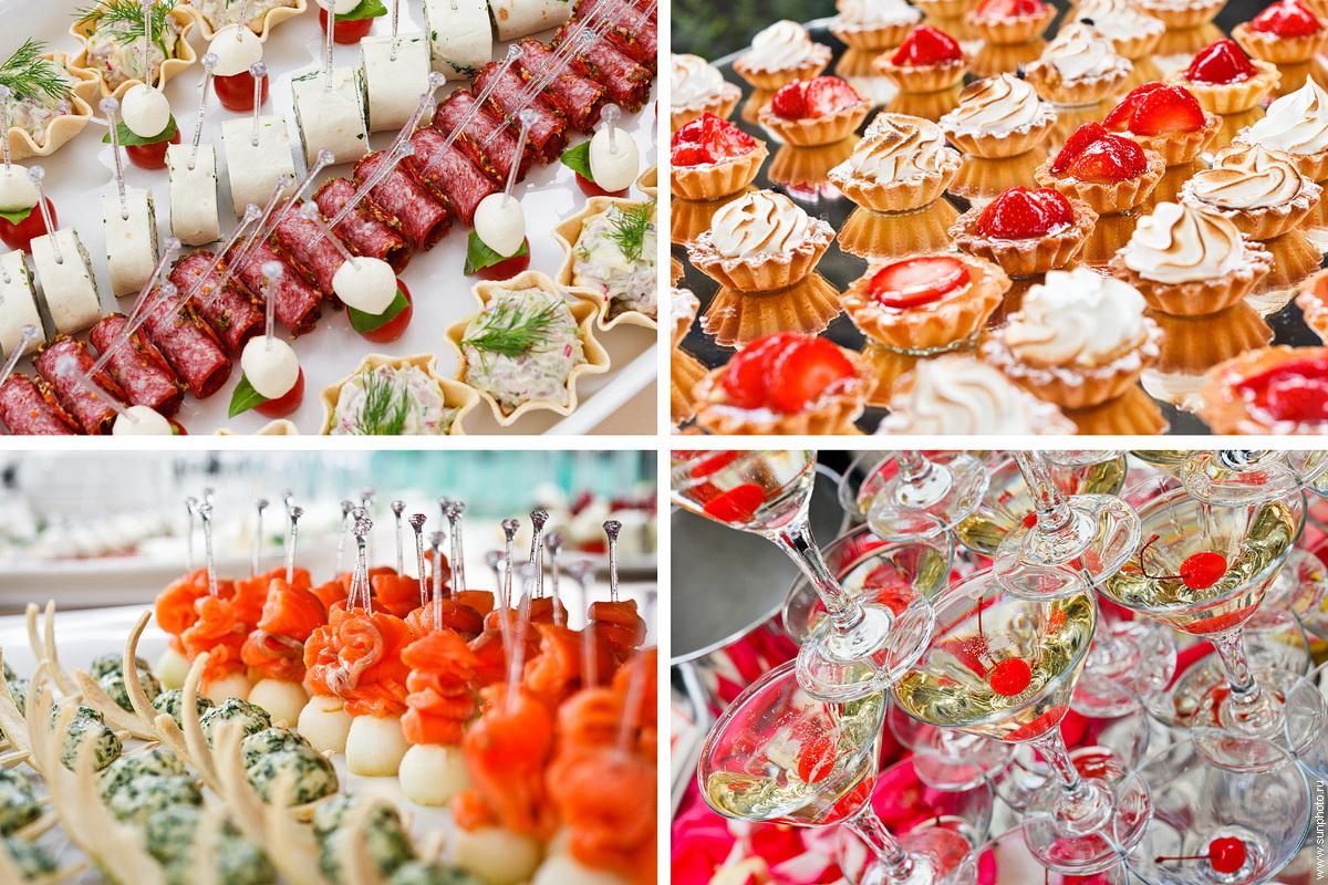 блюда на свадебный юбилей-отмечаем летом