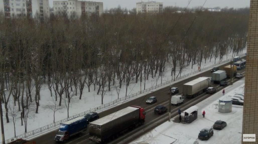 В Кирове акция протеста дальнобойщиков привела к транспортному коллапсу