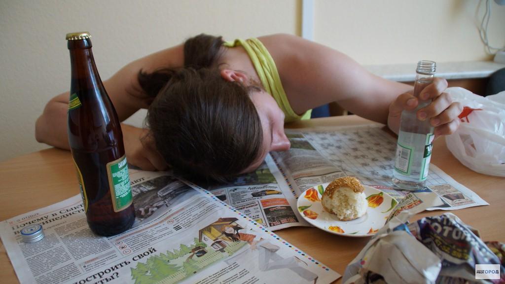 Кировская область вошла в число самых пьющих регионов России