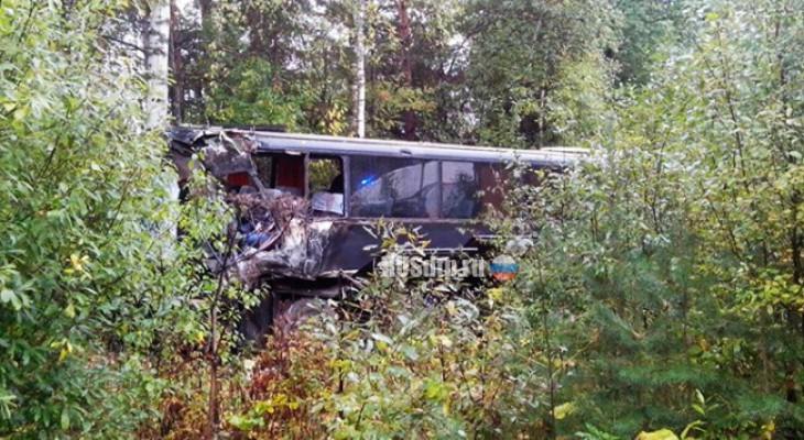 В Нижегородской области разбился пассажирский автобус с кировчанами