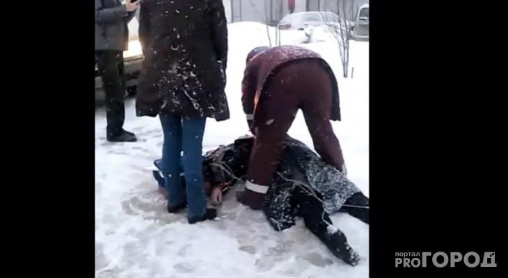 В Кировской области на улице нашли тело замерзшей женщины