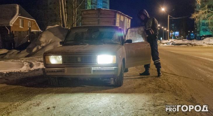 В Кировской области пьяного бесправника останавливали выстрелами по колесам