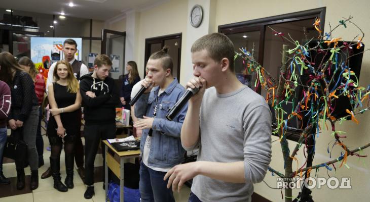 Во время «Библионочи» в Кирове  «Письмо Татьяны» читали под битбокс