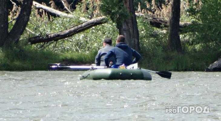 Из реки Вятка вытащили рыбака, который еле двигался и едва не погиб