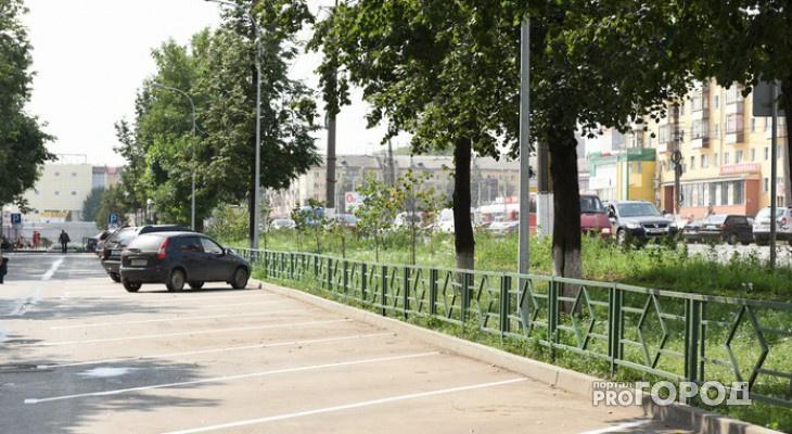 Кировские власти подсчитали доход от платной парковки на Комсомольской