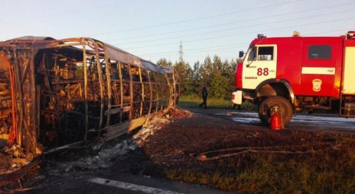 В ДТП с автобусом в Татарстане погибли 14 человек