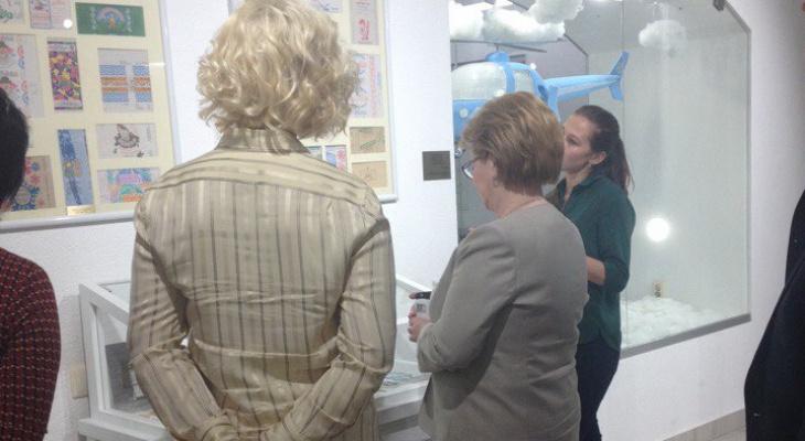 Министр здравоохранения РФ сходила в музей мороженого в Кирове