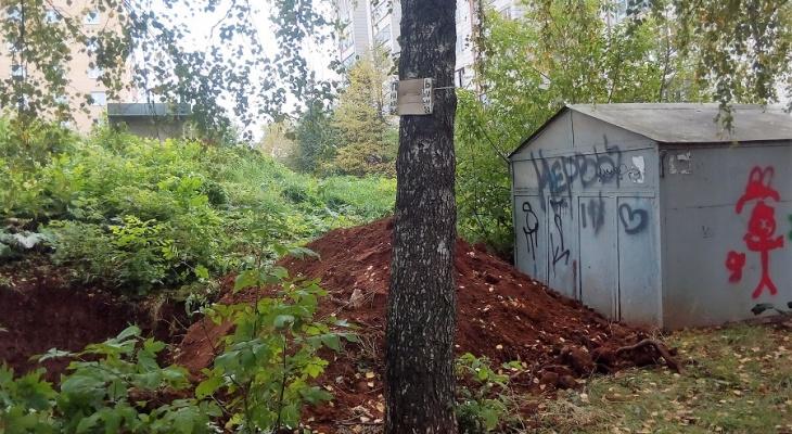 В Кирове жильцы 112 квартир остались без тепла и воды из-за гаража