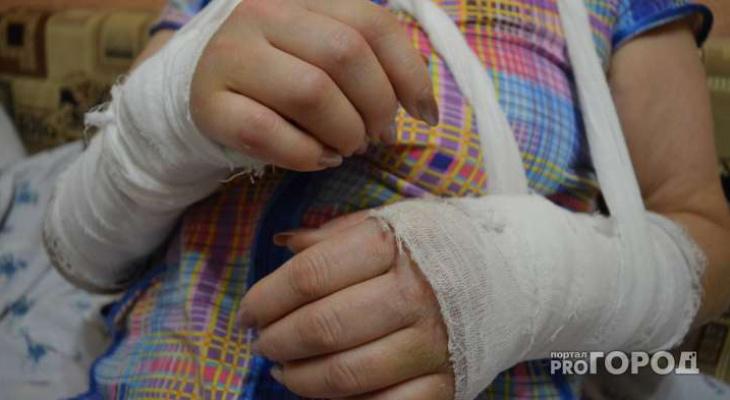 Кировчанин ударил прохожую: женщина упала и сломала руку