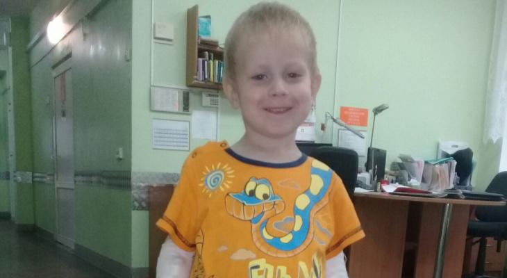 Кировчанка о болезни сына: «Опухоль растет на глазах. Это страшно»