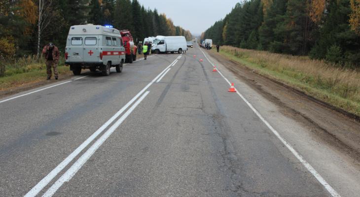 В Кировской области произошло серьезное ДТП: один человек погиб, пятеро пострадали