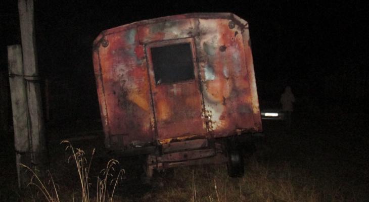 В Кировской области после пожара в вагончике нашли тело мужчины