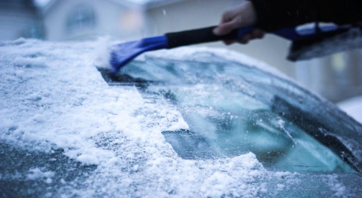 В Кировской области зафиксирована температура ниже -10 градусов