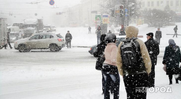 Прогноз погоды на неделю в Кирове: будет снежно и тепло