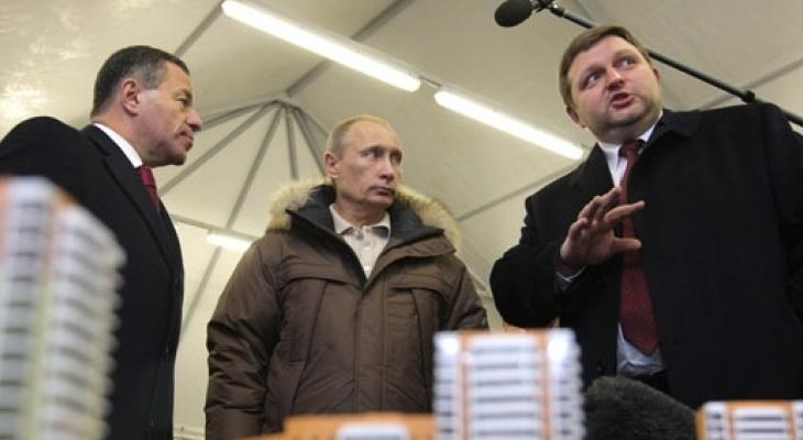 Владимир Путин сказал, что ему показалось странным в деле Никиты Белых