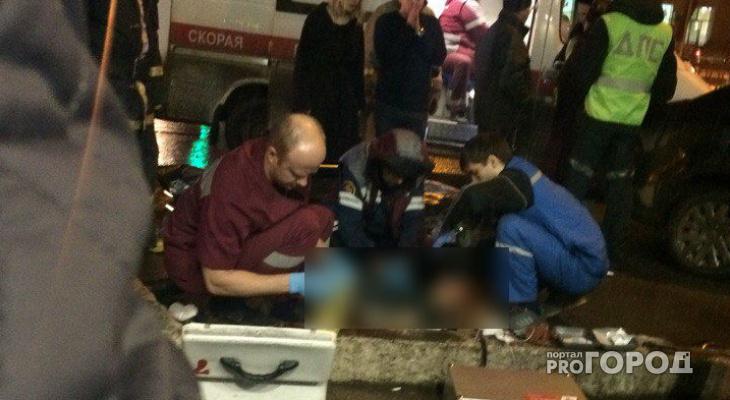 ДТП на улице Труда: девушку пытались реанимировать на проезжей части