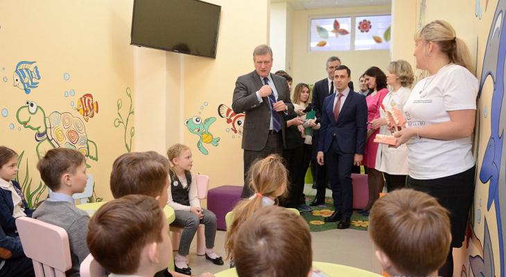 В Кирове отремонтировали крупнейшую детскую стоматологию на Октябрьском проспекте