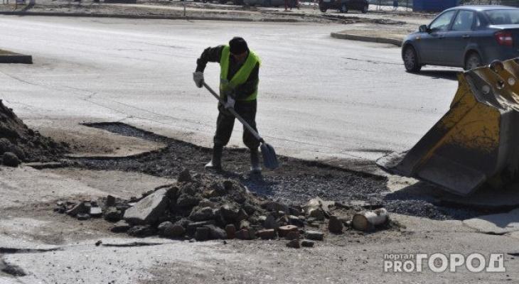 Дорогу Киров - Русское продолжат ремонтировать в конце мая