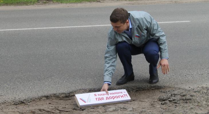 В Кирове начали разрушаться 60 улиц, отремонтированные в прошлых сезонах