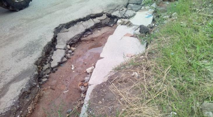 Фирма, плохо отремонтировавшая дороги в Кирове, сбежала от обязательств в другой регион