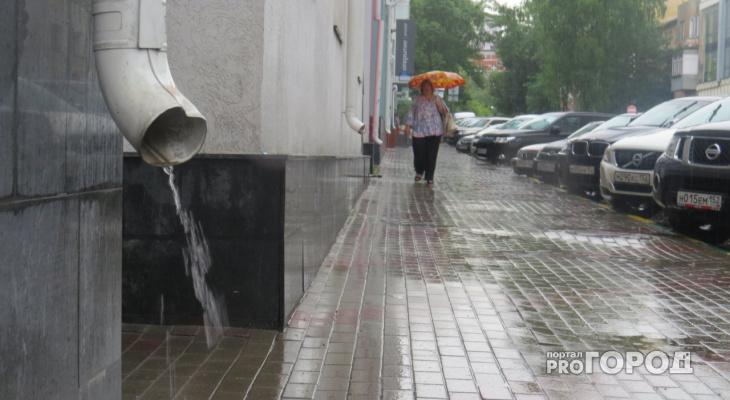 В Кировской области за сутки выпадет более половины месячной нормы осадков