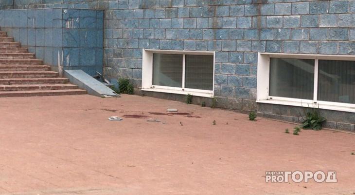 Появились кадры с места гибели женщины на улице Московской