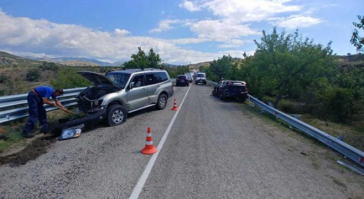 Туристы из Кировской области пострадали в ДТП в Крыму