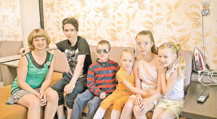 Многодетная кировчанка Анна Багаева: «Счастья много не бывает»