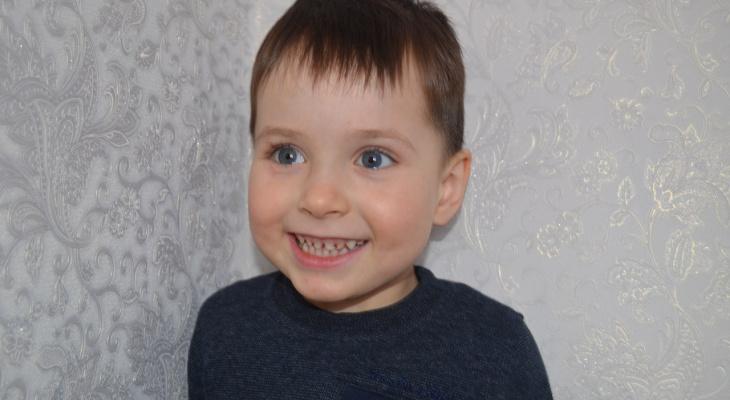 В Кировской области мальчику с редким недугом за два месяца собрали 800 тысяч рублей