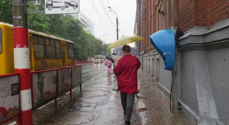 Прогноз на неделю: в Киров возвращаются дожди