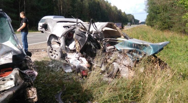 На Советском тракте в аварии погибли три человека