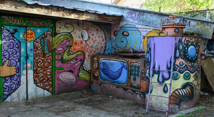 На карте Кирова появились отметки с самыми интересными граффити города