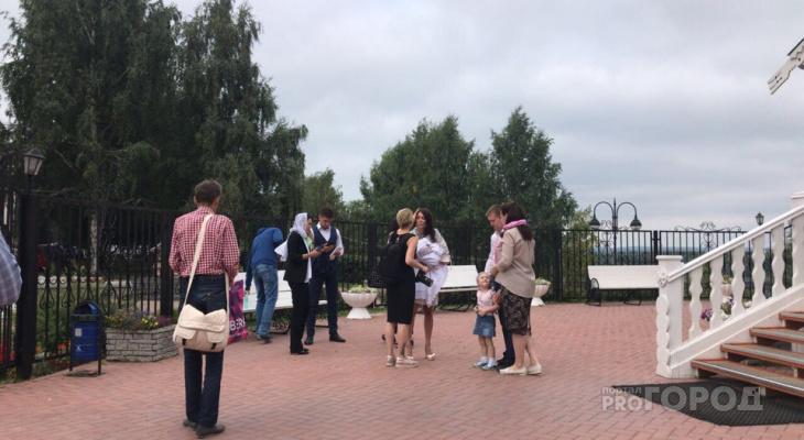 Жена Никиты Белых в Кирове крестила ребенка