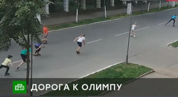 Скандал с тренировками детей на проезжей части в Кирове обсудили в эфире НТВ