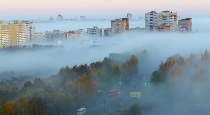 Туман в Кирове: 6 впечатляющих фото природного явления