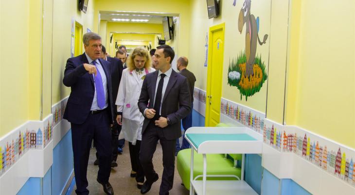 В Кирове открыли новую детскую поликлинику на проспекте Строителей