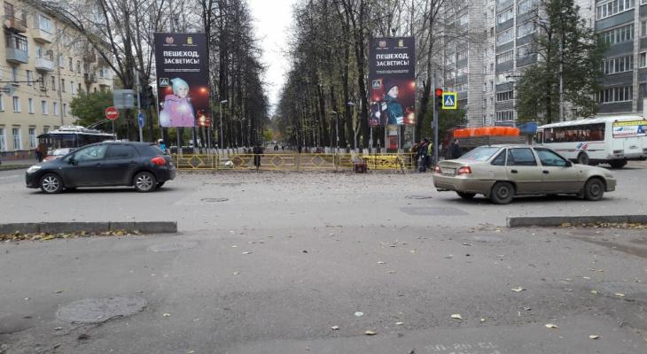 Власти сообщили о прекращении установки желтых заборов безопасности в Кирове