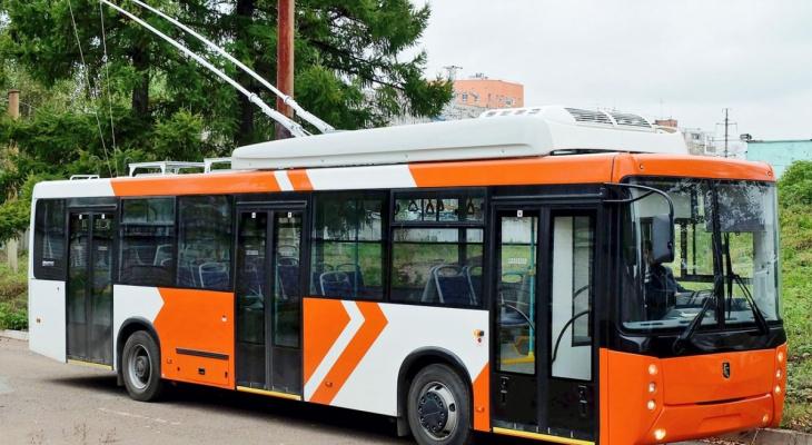 В Нововятск начнет ходить уникальный троллейбус