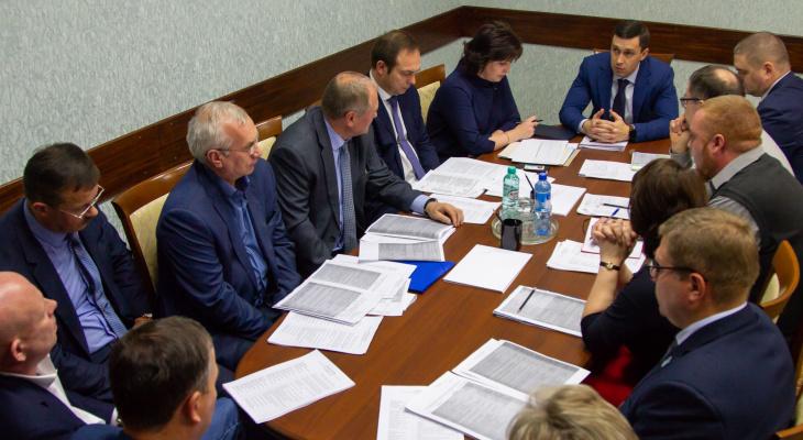 В правительстве рассказали о строительстве новых школ в Кировской области
