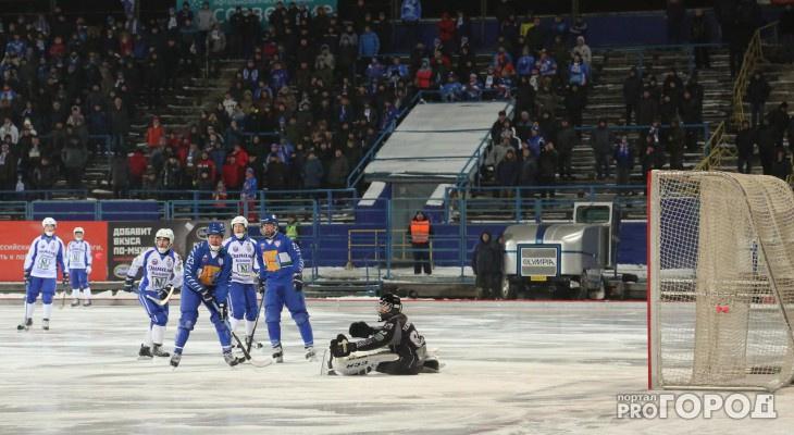 Хоккеистам кировской «Родины» представили нового директора Центра развития хоккея с мячом