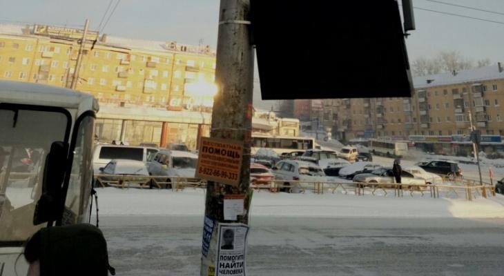 В -20 в Кирове отключились информационные экраны на остановках