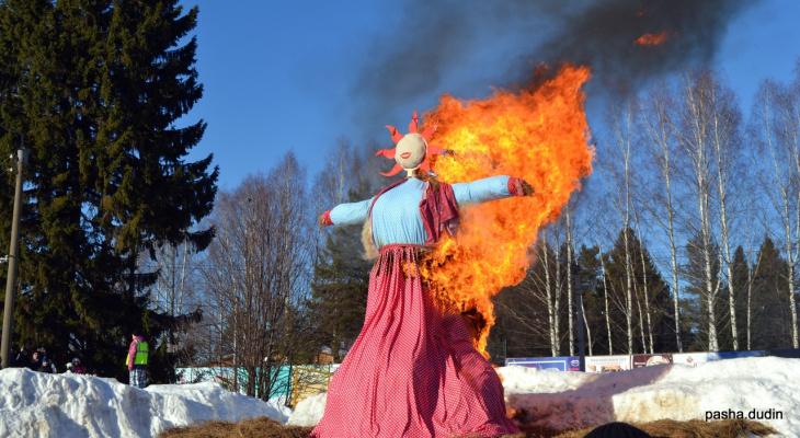 Фоторепортаж из соцсетей: как прошла Масленица в Кировской области