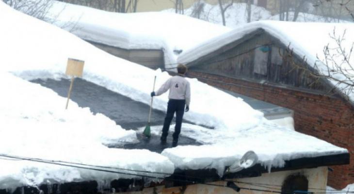 Житель Кировской области продает снег на Avito