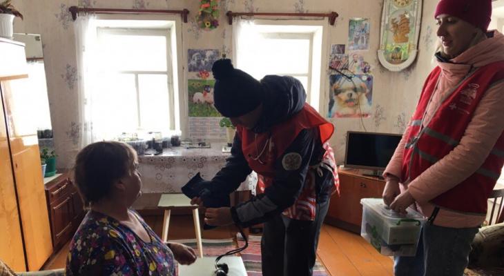 В рамках акции «Дружины здоровья» медики осмотрели около тысячи жителей Нолинского и Нагорского районов