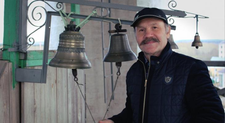 «Быть звонарем - быть импровизатором»: главный звонарь Кировской области о своем мастерстве