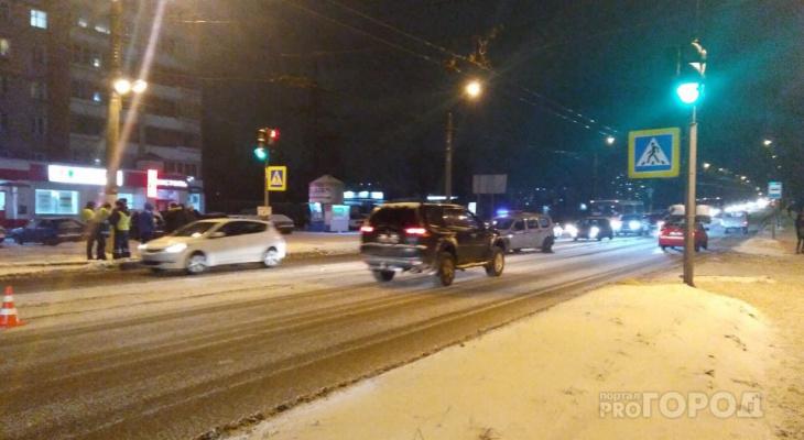 Появилось новое видео погони за водителем, насмерть сбившим девочку в Кирове