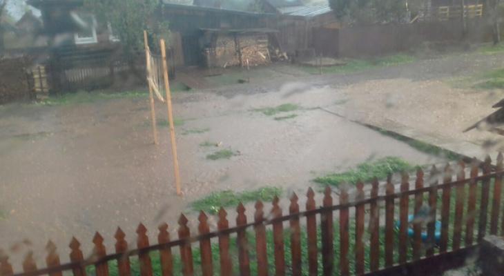 Что обсуждают в Кирове: из-за ливня затопило город и смертельное ДТП